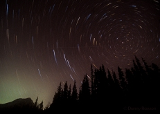 Mt. Hood Star Trail