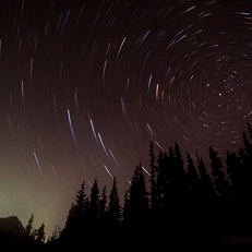 Mt. Hood Star Trail